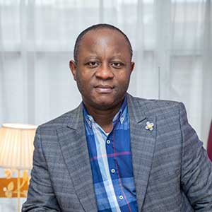 Solomon Kabba a Home Manager